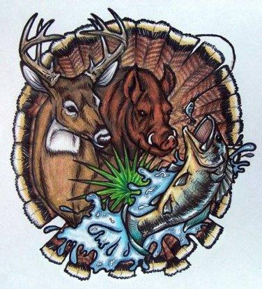 Wild Animal Collage Cross Stitch Pattern***L@@K***