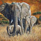 TropicaL JungLe ELephant Cross Stitch Pattern***L@@K***