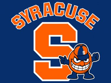 Syracuse Orange Men Cross Stitch Pattern***L@@K***