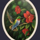 Humming Bird Feeding Time Cross Stitch Pattern***L@@K***