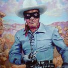Clayton Moore Lone Ranger Cross Stitch Pattern***L@@K***