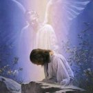 Angel While Praying Cross Stitch Pattern***L@@K***