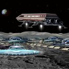 Arriving at Moon Base Alfa Cross Stitch Pattern***L@@K***