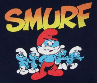 Cartoon Smurfs Cross Stitch Pattern***L@@K***