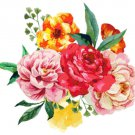 BEAUTIFUL BOUQUET Cross Stitch Pattern***L@@K***