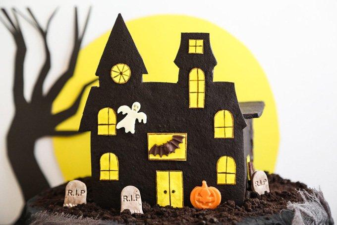 Haunted House Time Cross Stitch Pattern***L@@K***