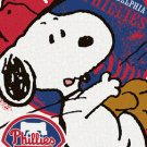 Peanuts Philadelphia Phillies Cross Stitch Pattern***L@@K***