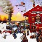 Whistle Stop Christmas Cross Stitch Pattern***L@@K***