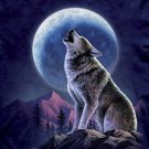 Wolf And Moon Cross Stitch Pattern***L@@K***