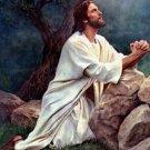 Jesus In Prayer Cross Stitch Pattern***L@@K***