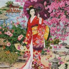 Japanese Garden Beauty Cross Stitch Pattern***LOOK***