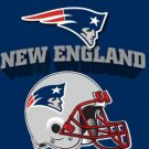 New EngLand Patriots Helmet Cross Stitch Pattern***LOOK***