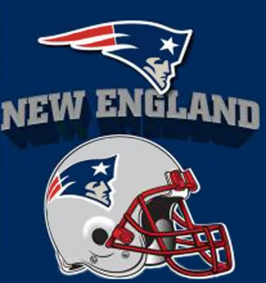 New EngLand Patriots Helmet Cross Stitch Pattern***LOOK***