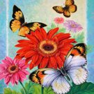 Butterfly Flower Garden Cross Stitch Pattern***L@@K***