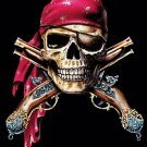 SkuLL & Muskets Pirate Cross Stitch Pattern***L@@K***