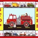 Fire Engine Truck Cross Stitch Pattern***LOOK**