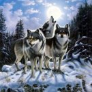 Wolf Pack Hunt Cross Stitch Pattern***L@@K***
