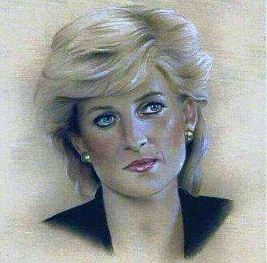 Princes Diana Cross Stitch Pattern***L@@K***