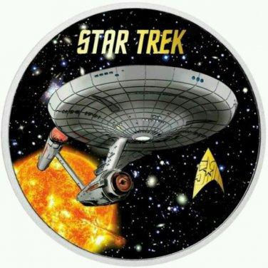 STAR TREK SUN U.S.S. ENTERPRISE Cross Stitch Pattern***LOOK***