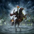 The Headless Horseman Cross Stitch Pattern***LOOK***