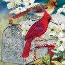 Red Bird Express Cross Stitch Pattern***LOOK***