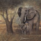 Elephant Mother And Child Cross Stitch Pattern***LOOK***