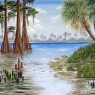 Florida Everglades Cross Stitch Pattern***LOOK***