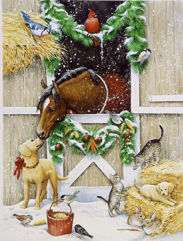 Holiday Cheer Cross Stitch Pattern***LOOK***