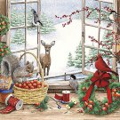 Window Into Winter Cross Stitch Pattern***LOOK***