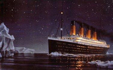 Titanic Iceberg Cross Stitch Pattern***LOOK***