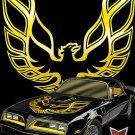 ( CRAFTS )  Pontiac Trans Am Fire-Bird Cross Stitch Pattern***LOOK***$4.95 ON-SALE ONLY $2.95