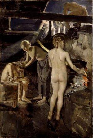 Akseli Gallen Kallela-In the Sauna