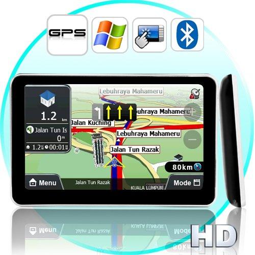 5 Inch HD Touch Screen GPS Navigator (Direct WIN CE Access)