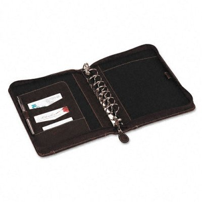 Franklincovey Sundance Simulated Leather Organizer w Zipper