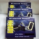 motorcycle bluetooth multi interphone headsets 1000M package.3 complete set new