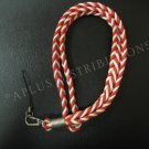NEW FASHIONABLE NYLON BRAIDED ROPE LANYARD - RED