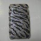 New Black Zebra Design Crystal Bling Diamond Case For iPhone 3G 3Gs - (0020)
