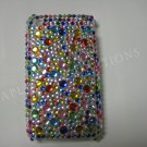 New Multi-Color Multi-Diamonds Design Crystal Bling Diamond Case For iPhone 3G 3Gs - (0014)