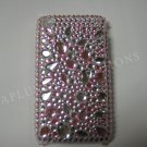 New Pink Multi-Size Diamonds Design Crystal Bling Diamond Case For iPhone 3G 3Gs - (0015)