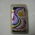 New Gold Abstract Apple Design Crystal Bling Diamond Case For iPhone 3G 3Gs - (0012)