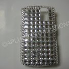 New Silver Retro Series Bling Diamond Case For Blackberry 8300 - (0021)