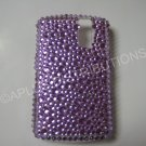 New Purple Multi-Diamonds Bling Diamond Case For Blackberry 8300 - (0019)