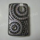 New Black Diamond Swirlz Bling Diamond Case For Blackberry 8300 - (0022)