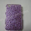 New Purple Multi-Diamonds Bling Diamond Case For Blackberry 8520 - (0019)
