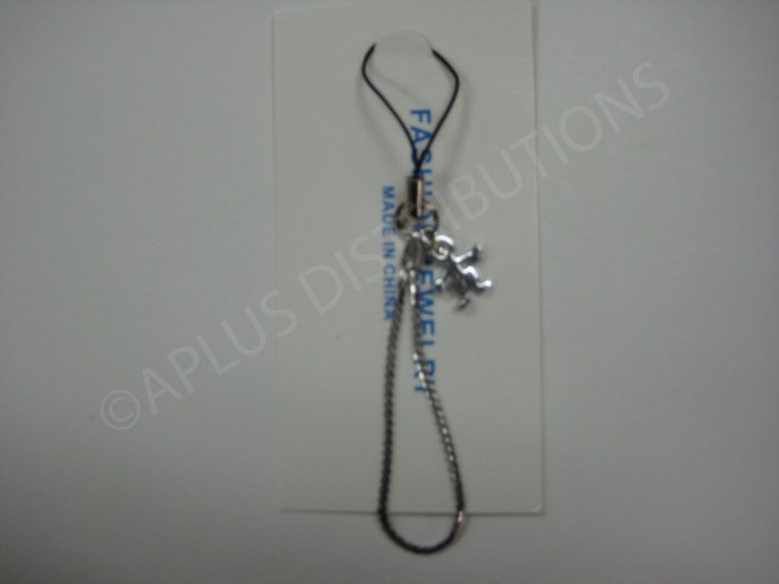 NEW Crystal Cell Phone Charm-Stick Boy