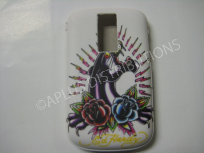 New Black Ed Hardy Panther TPU Cover For Blackberry 9000 - (0106)