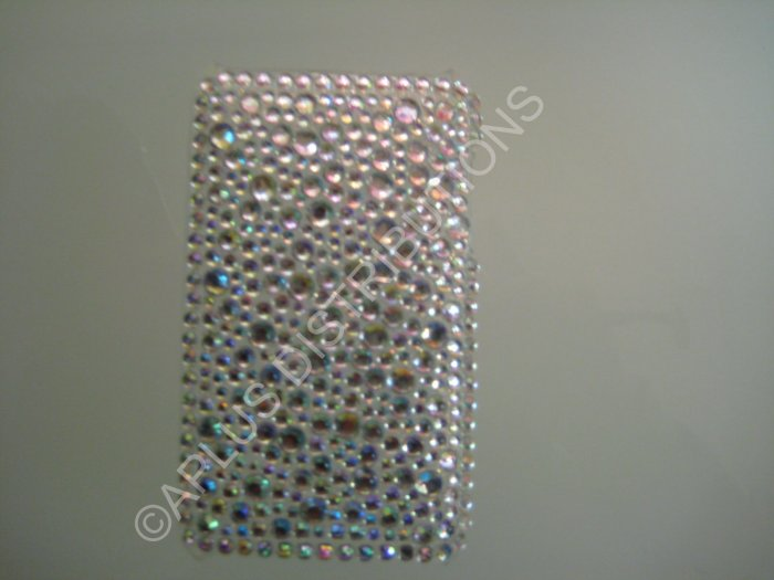 NEW FASHIONABLE BLING MULTI-DIAMONDS FOR IPOD TOUCH 2ND 3RD GENERATION-WHITE