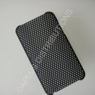 NEW Hard Protective Case For 2ND 3RD GENERATION SOLID LATTICE PATTERN IPOD TOUCH-BLACK