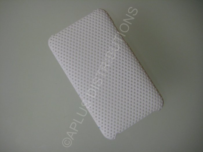 NEW Hard Protective Case For 2ND 3RD GENERATION SOLID LATTICE PATTERN IPOD TOUCH-WHITE