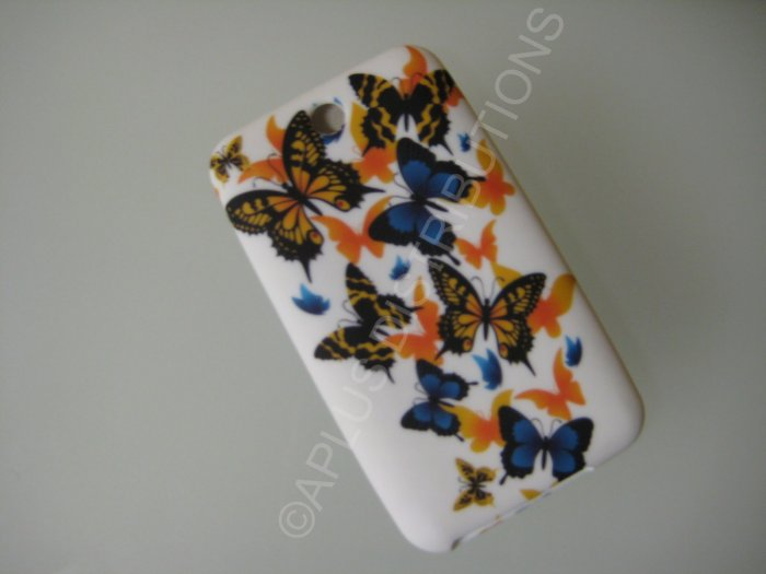 NEW FOR IPOD TOUCH 2ND & 3RD GENERATION MULTIPLE BUTTERFLY-WHITE